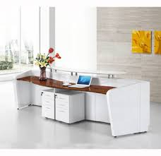 White Gloss Reception Desk High End Marble High Gloss White Modern Office Reception Desk