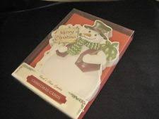 carol wilson christmas cards carol wilson 10 christmas cards envelopes snowman snow boxed set