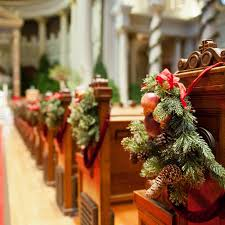 Pew Decorations For Weddings Winter Wedding Ideas From Real Weddings Brides