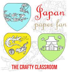 japan paper fan craft