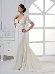 elegant and modern empire wedding dresses ideas popular empire