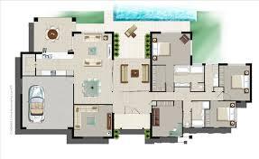 single storey house plans custom homes 8 stylish and peaceful single storey house plans for