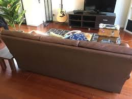 old leather couch sofas gumtree australia melbourne city