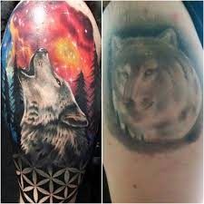 space wolf cover up by lively at tide gallery in