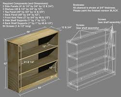 wooden shelf building plans friendly woodworking projects