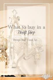 what to buy in thrift stores country design style