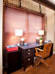 photos hgtv eclectic home office with exposed brick arafen