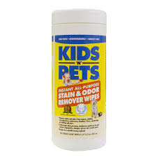 kids n pets stain and odor remover wipes 40 count 55 the home