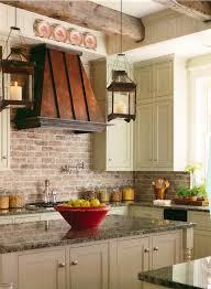 brick backsplashes for kitchens brick backsplashes rustic and of charm kitchen country