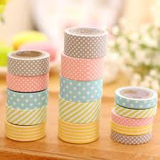 washi tape cute pattern paper washi tape 5 pack kawaii pen shop