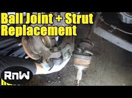 1998 dodge dakota steering knuckle how to replace a lower joint steering knuckle and strut