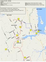 Notre Dame Campus Map Trail Maps United Atv Club