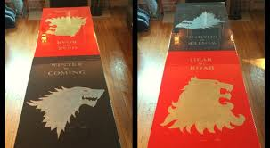 DIY Beer Pong Table Game Of Thrones Style Httpwwwdiyavecom - Beer pong table designs