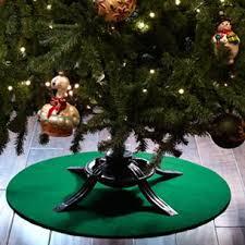 christmas tree holder the original grillpad christmas tree stand mat reviews wayfair