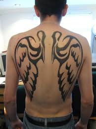 amazing angel wings tattoos on back for guys tattoobite com