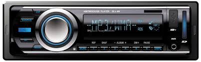 Car Audio Decks Car Auto Radio Remote Control Car Mp3 Player Ksd 6206 Vehicle