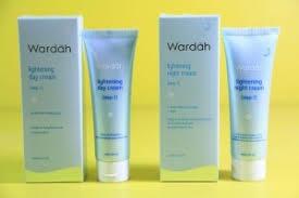 Wardah Krim Malam Dan Siang wardah lightening day step 1 toko kosmetik