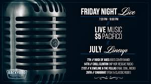 friday night live pacific beach restaurant bar happy hour