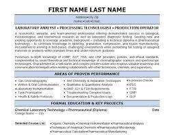 Sterile Processing Resume Chemistry Lab Technician Resume Create Resume Customize Resume