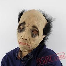 halloween mask funny bald old man halloween masks for sale