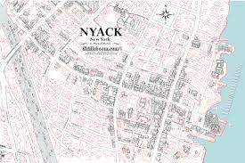 Upstate Ny Map Nyack New York Map New York Map