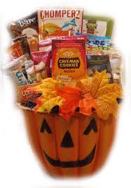 halloween baskets healthy halloween gift baskets natashainanutshell com