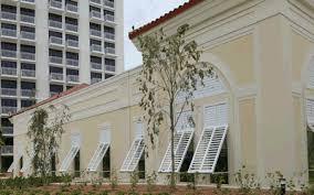Bahama Awnings Plantation Shutters Motorized Hurricane Security Shutters Screen