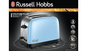 Asda Kettle And Toaster Sets Russell Hobbs Colours 2 Slice Toaster Heavenly Blue Home