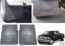 dodge ram mud flaps mopar splash flat rear 82212073ac ebay
