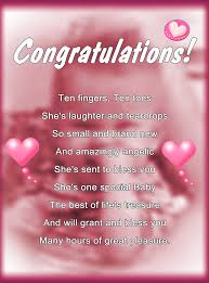 baby girl poems new baby girl by greeting cards by tracy devore redbubble