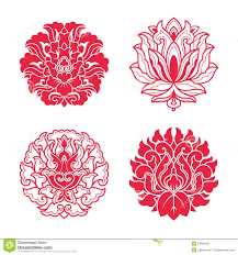 style flower flower patterns of chinese style stock illustration illustration