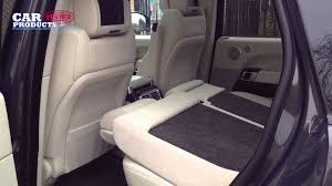 land rover defender interior back seat intelligent folding seats on the range rover vogue sdv8 se youtube