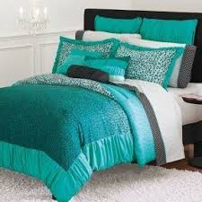 Purple And Teal Bedding Leopard Twin Comforter Foter