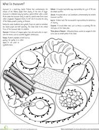 seder plate for kids color the passover seder plate worksheet education