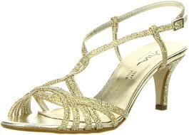 schuhe f r hochzeit vista damen sandaletten glitzeroptik gold de schuhe
