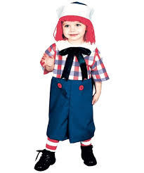 party city halloween costumes for boys amazon com raggedy andy costume toddler costume 2t 4t clothing