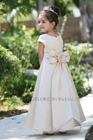 tt 5377 flower dress style 5377 all satin cap short sleeved