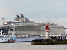 Royal Caribbean Harmony Of The Seas by World U0027s Biggest Cruise Liner Harmony Of The Seas Takes To The