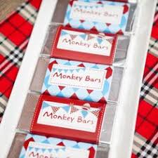 Sock Monkey Favors by Adorable Rustic Modern Sock Monkey Birthday Fiestas