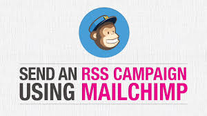how to send an rss campaign using mailchimp this design