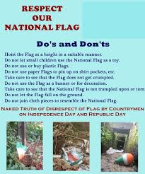 All About The Indian Flag Respect The National Flag