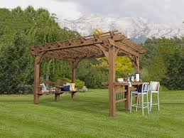 8 X 10 Pergola by Backyard Pergolas For Patios Backyard Discovery