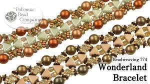 beaded bracelet tutorials youtube images Wonderland bracelet jpg