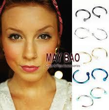 piercinguri online online cheap nose hoop piercing ring seamless nose lip ear