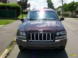 2004 deep lava red metallic jeep grand cherokee laredo 4x4