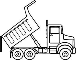 Dump Truck Coloring Pages Coloring Pages Coloring Truck Pages
