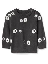 Halloween Googly Eyes Sweater Gap