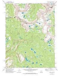Utah Colorado Map by Hayden Peak Topographic Map Ut Usgs Topo Quad 40110f7