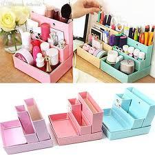 Desk Decor Diy 2018 Wholesale Diy Paper Board Storage Box Desk Decor Stationery