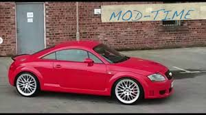 audi tt 3 2 v6 turbo youtube